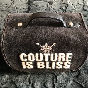 Juicy Couture makeup carrying case